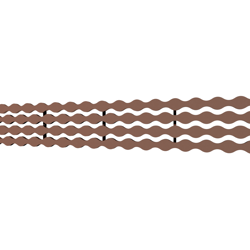 10_Linear_Covers_Stream_Polished_Rose_Gold_Small_H_001.png - QuickDrain Linear Drain 32 in. Stream Cover in Polished Rose Gold
