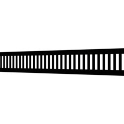 10_Linear_Covers_Vertical_Polished_Black_Small_H_001.png - QuickDrain Linear Drain 18 in. Vertical Cover in Polished Black
