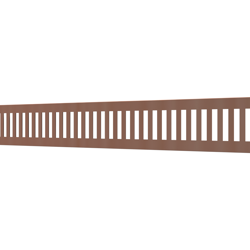 10_Linear_Covers_Vertical_Polished_Rose_Gold_Small_H_001.png - QuickDrain Linear Drain 18 in. Vertical Cover in Polished Rose Gold