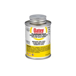 Oatey® 4 oz. CPVC All Weather Flowguard Gold® 1-Step Yellow Cement
