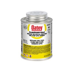 Oatey® 8 oz. CPVC All Weather Flowguard Gold® 1-Step Yellow Cement