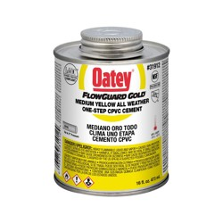 Oatey® 16 oz. CPVC Flowguard Gold® 1-Step Yellow Cement