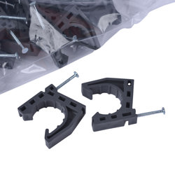 """34288_h.jpg - Oatey® 1"""" Stand-Off™ Half Clamps With Nails"""