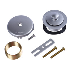 Dearborn® Conversion Kit, Uni-Lift Stopper w/ UltraShine® Satin Chrome Finish Trim