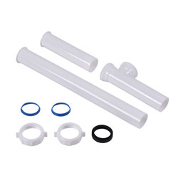 """P9100GEB_h.jpg - Dearborn® 1-1/2"""" x 15"""" Disposer Kit For GE®, Bagged"""