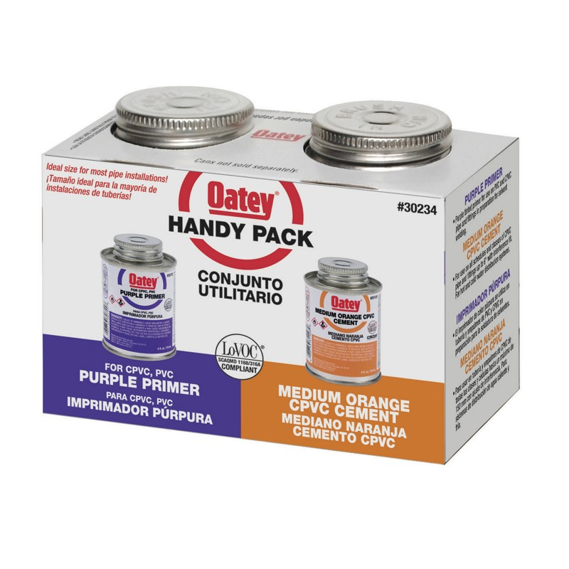 038753302348_H_001.jpg - Oatey® 4 oz. CPVC Cement and Purple Primer Handy Pack