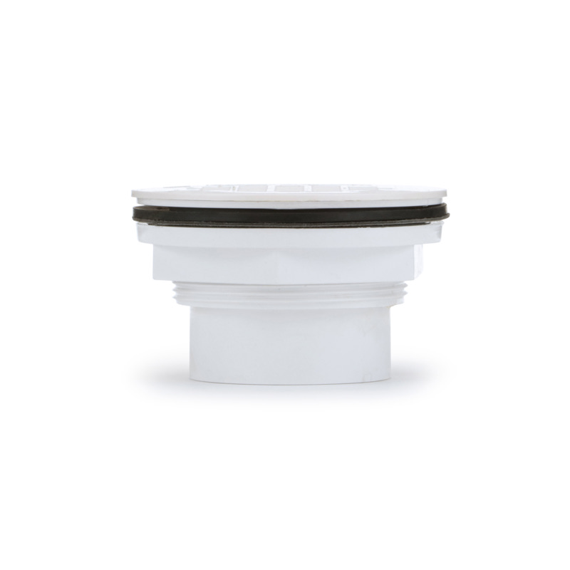 038753420899-01-01.jpg - Oatey® 2 in. 101 PS PVC Solvent Weld Shower Drain with Plastic Strainer