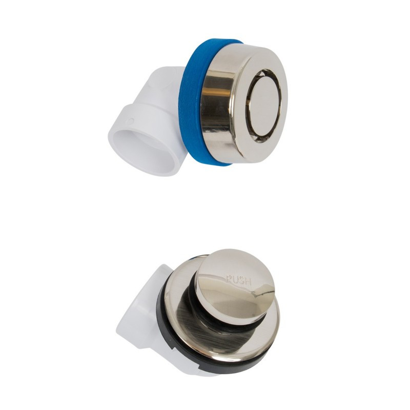 P9950BN.jpg - Dearborn® True Blue® PVC Half Kit, Touch Toe Stopper, with Test Kit, Brushed Nickel