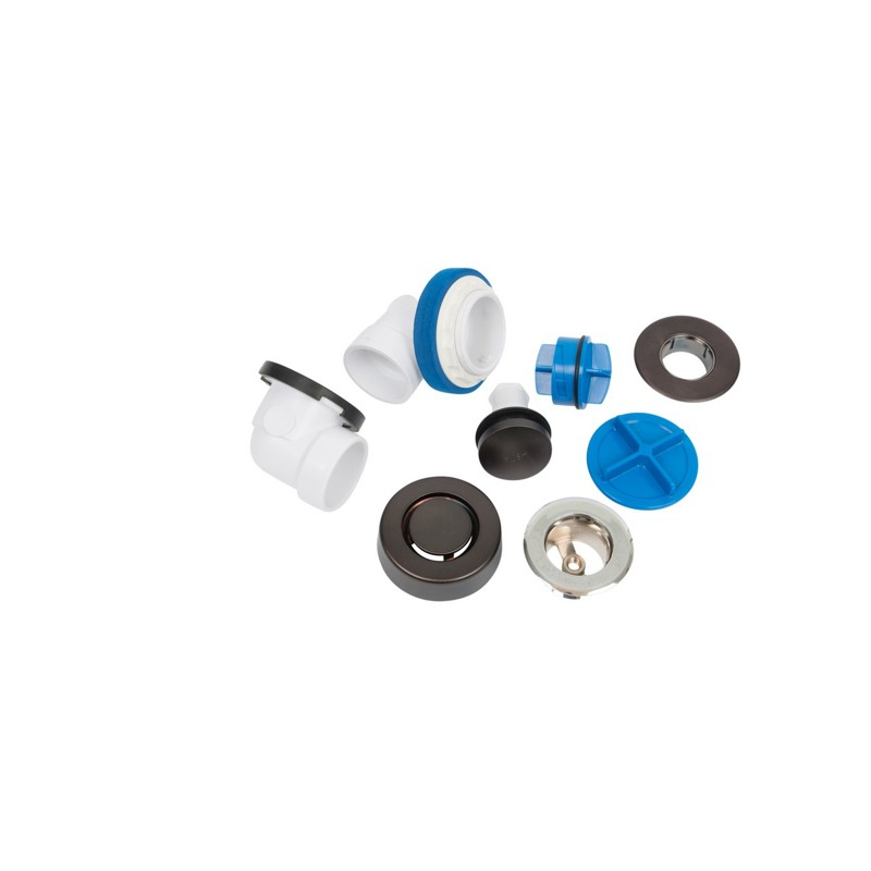 P9950RBX.jpg - Dearborn® True Blue® PVC Half Kit, Touch Toe Stopper, with Test Kit, Oil Rubbed Bronze