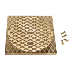 """038753811406_H_001.jpg - Oatey® 6"""" Round BR Cover & Square Ring"""